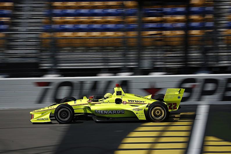 Indy 500 winner Pagenaud takes Iowa pole for Penske ahead of