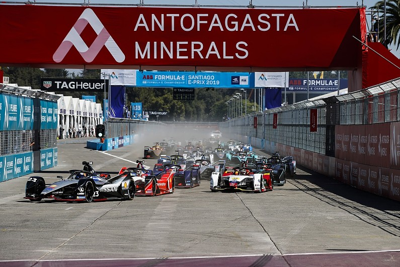 Santiago circuit heavily changed to boost Formula E racing in 2020