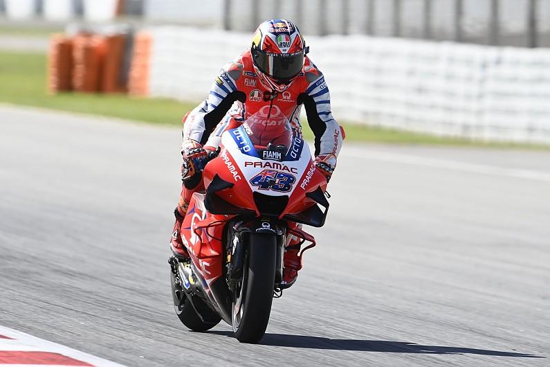Tearoff that ended Miller's Emilia Romagna MotoGP race up for auction - Motor Informed