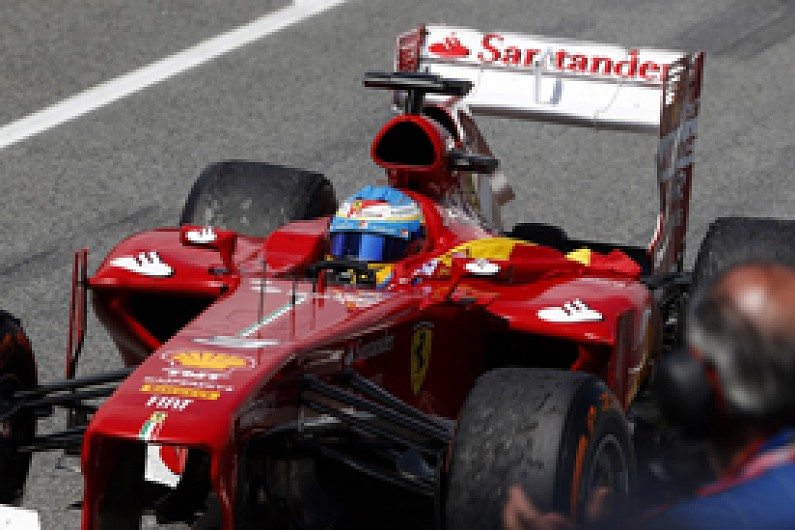 Spanish GP: Ferrari says Alonso had puncture but win wasn't at risk