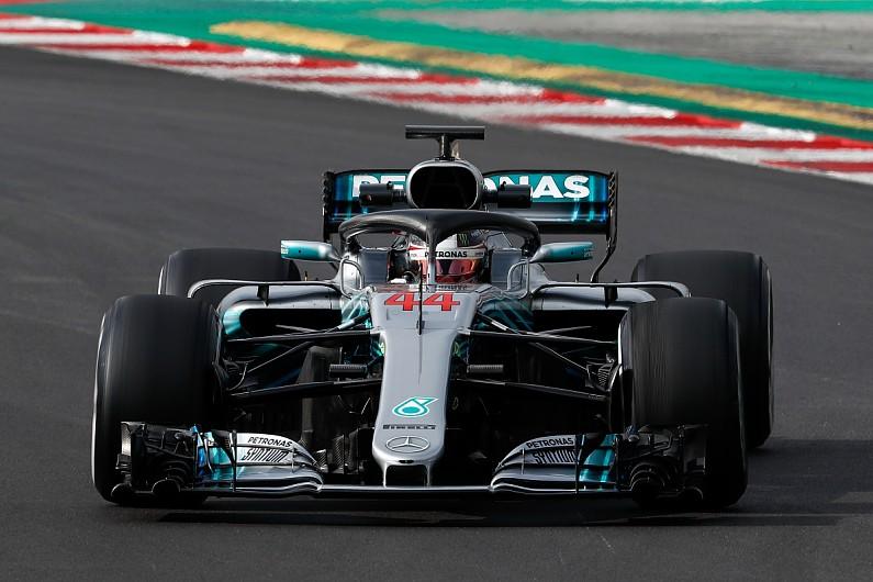 02cd9686d35 F1 testing  2018 Mercedes  feels faster  - Lewis Hamilton - F1 - Autosport