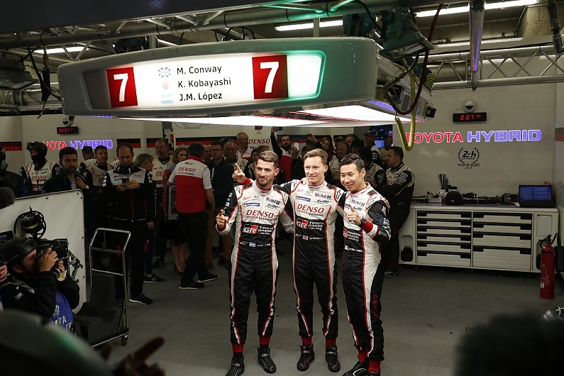 Le Mans 24 Hours: Kobayashi seals pole in all Toyota front row