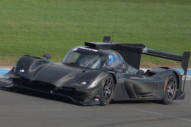 Mazda And Joest Shakedown RT24 P 2018 IMSA Car At Donington Park   IMSA  SportsCar   Autosport