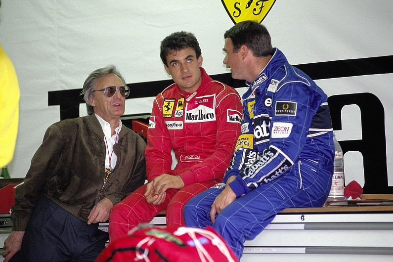 Video: The mystery of Jean Alesi's Williams Formula 1 contract