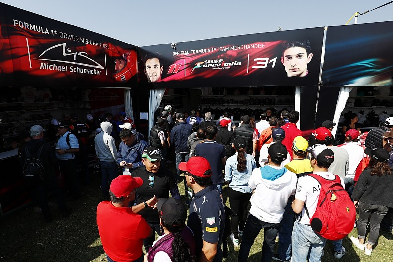 f1 plans new merchandise route for 2018 that flopped in nascar f1 autosport. Black Bedroom Furniture Sets. Home Design Ideas