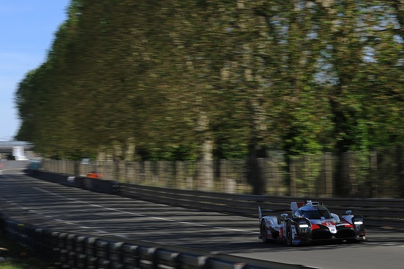 Buemi improves twice to lead Toyota 1-2 in first Le Mans test day