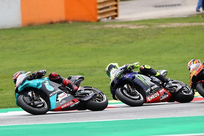 "Quartararo ""can't replace"" Rossi at Yamaha in MotoGP"