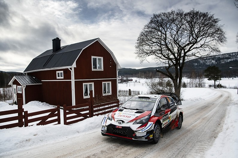 Ott Tanak takes two WRC Rally Sweden stage wins on opening morning - WRC -  Autosport ee61b7b05ce