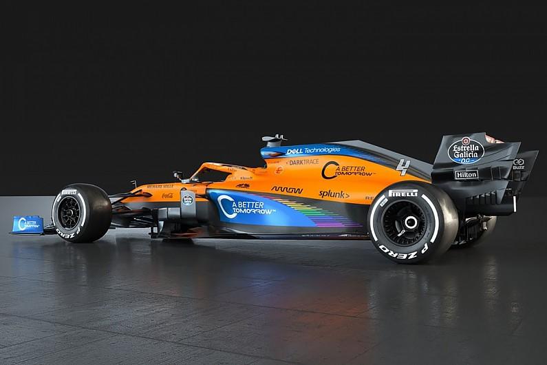 Mclaren F1 Team Reveals Tweaked Weraceasone Livery With End Racism Messaging F1 Autosport