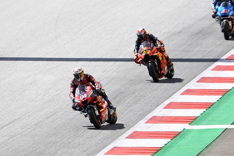 "Dovizioso: Difficult to understand ""strange"" KTM MotoGP bike"