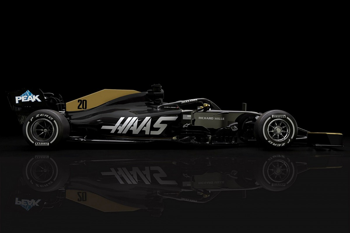Haas Reveals Revised F1 Livery After Title Sponsor Rich Energy Exit F1 Autosport