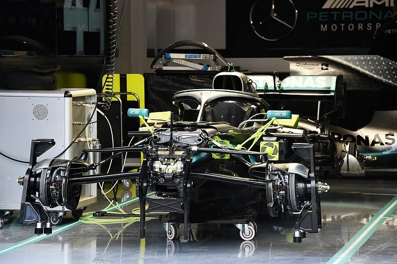 Piola: Mercedes F1 W10 rear suspension innovation explained