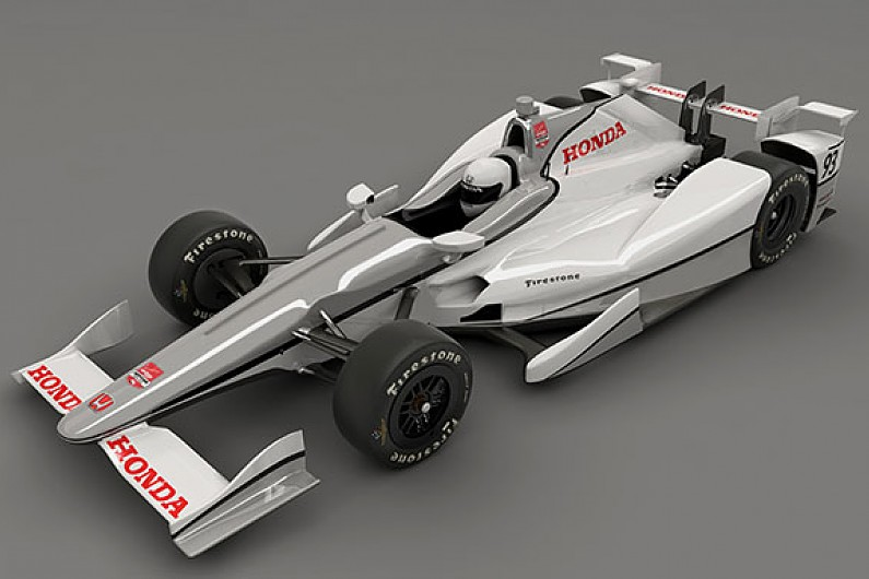 Honda reveals the first IndyCar superspeedway aero kit for Indy 500