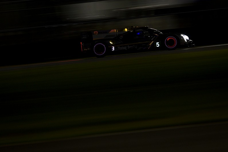 Daytona 24 Hours: JDC-Miller Cadillac takes lead at halfway stage