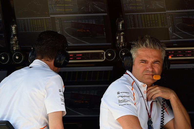 gil de ferran parking 'anger' at mclaren f1 team's 2018 results - f1