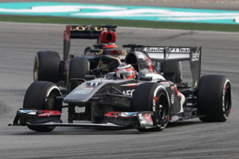 Sauber: Nico Hulkenberg's Malaysian GP drive vindicated his signing