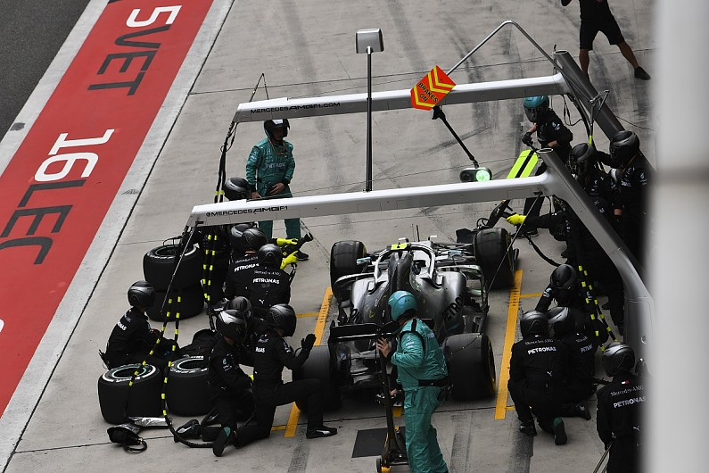 Bottas thought Mercedes double stack stop meant F1 Chinese GP loss