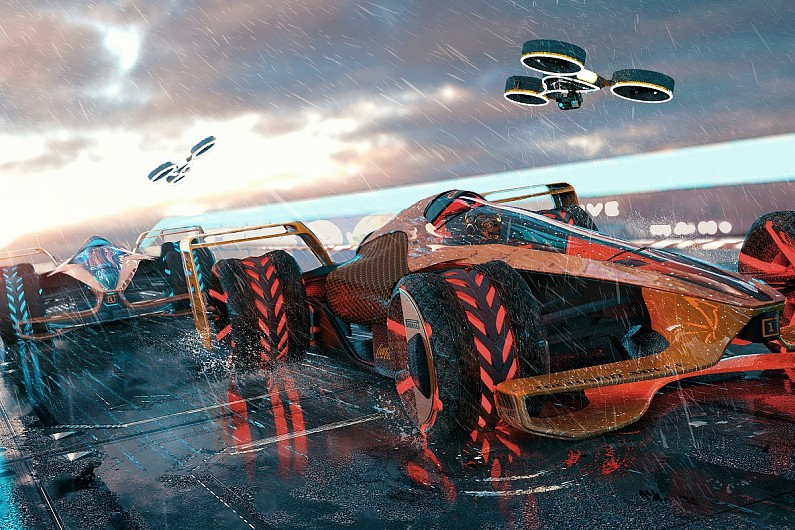 McLaren Applied Technologies reveals extreme 2050 F1 concept