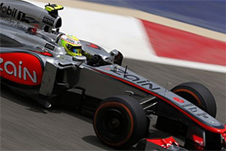 Bahrain GP: Perez fears McLaren will struggle to reach Q3