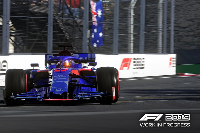 Video: Early impressions of F1 2019 game, including first look
