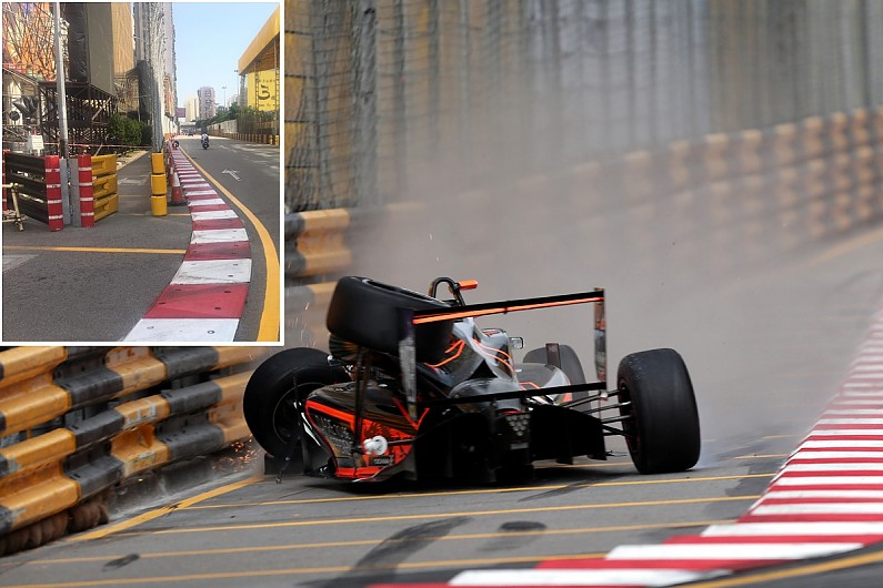 Macau reveals changes to Florsch crash corner for 2019 event