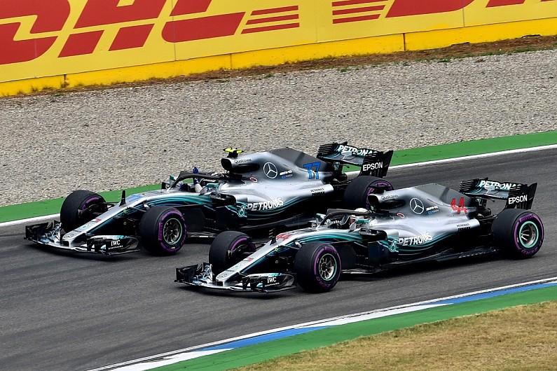 Resultado de imagen de Hamilton Bottas Mercedes