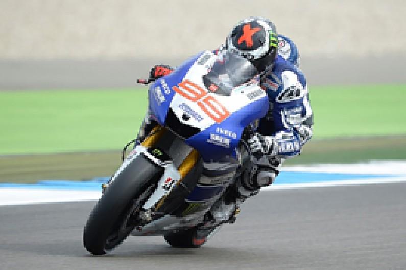 MotoGP Assen: Lorenzo edges Crutchlow in first practice