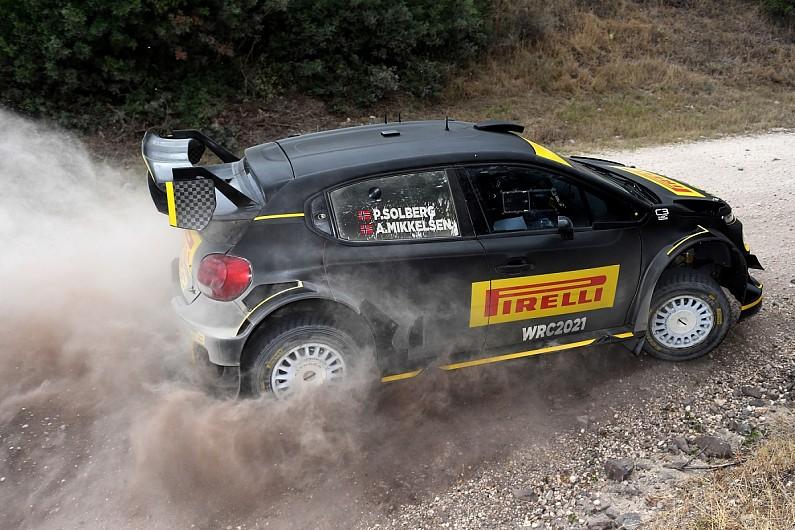 Solberg in WRC return on Italy powerstage with Pirelli test car - Motor Informed