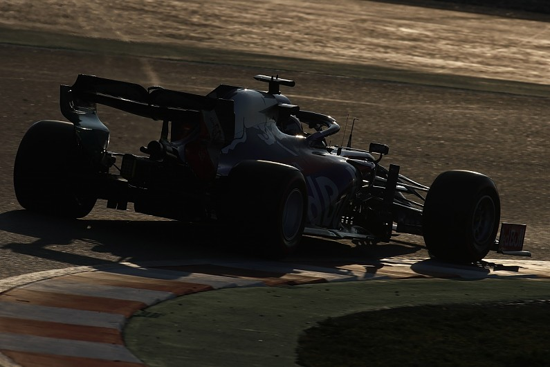 Barcelona F1 test report: Daniil Kvyat fastest for Toro Rosso