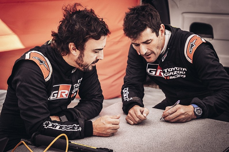 Coma To Act As Alonso S Dakar Rally Co Driver At Toyota In 2020