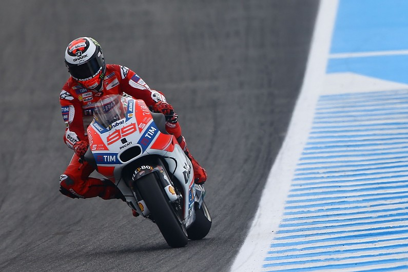 Rear Brake Use Helping Jorge Lorenzo On Ducati S Motogp Bike Motogp Autosport