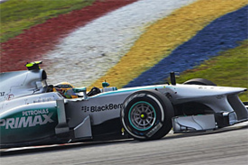 Hamilton: Mercedes now second best team behind Red Bull