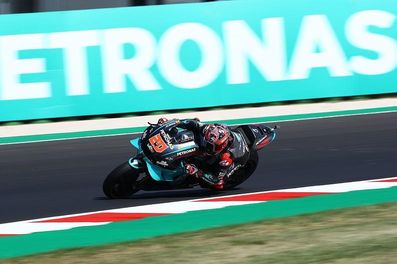 San Marino MotoGP: Rossi quickest in incident-filled FP3 - Motor Informed
