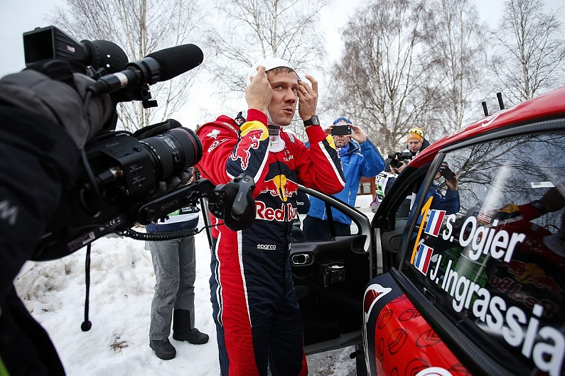 Sebastien Ogier has  nothing to play for  after WRC Sweden crash - WRC -  Autosport f10686f342b