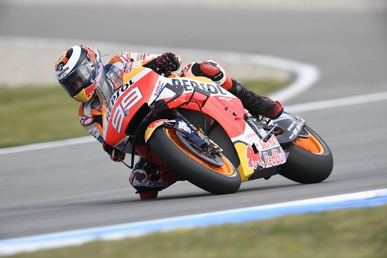 Marquez: Lorenzo's Assen MotoGP crash proves 2019 Honda is not easy