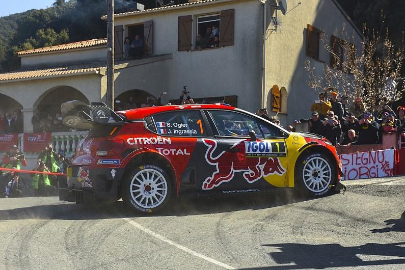 Ogier: Corsica like a 'real life' WRC test amid Citroen struggles