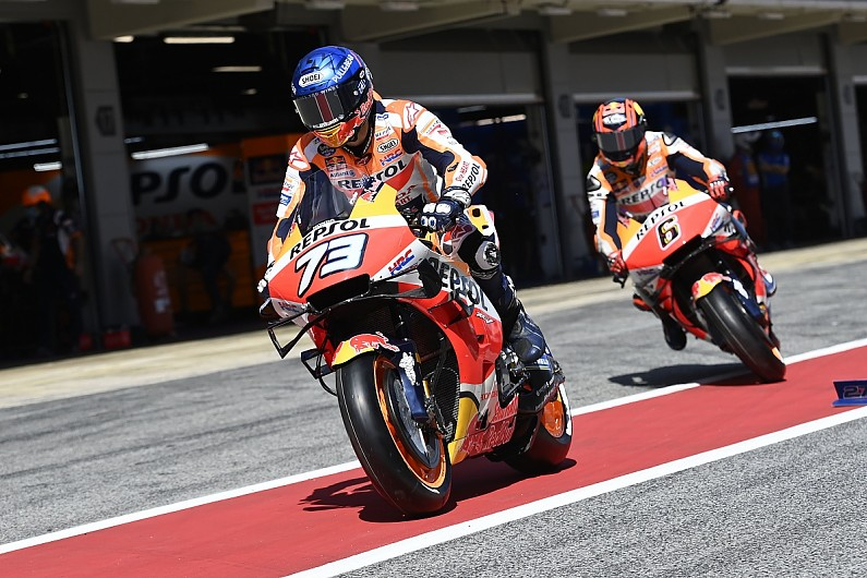 """Honda changing """"more than expected"""" to suit new MotoGP rear tyre - Motor Informed"""
