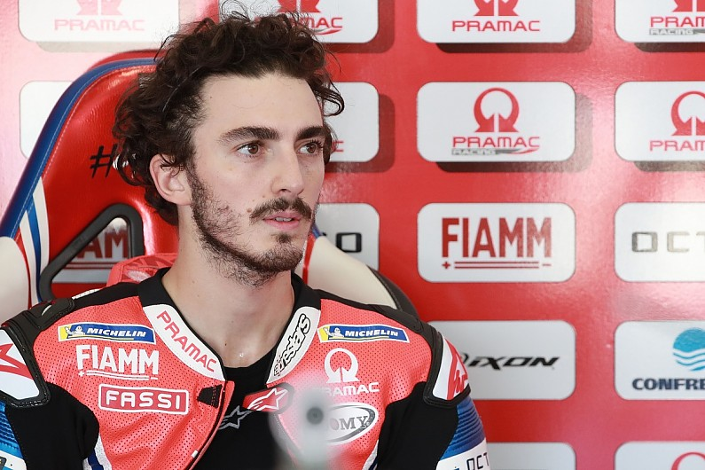 """Bagnaia: Lead crash in Emilia Romagna GP caused by """"something dirty on track"""" - Motor Informed"""