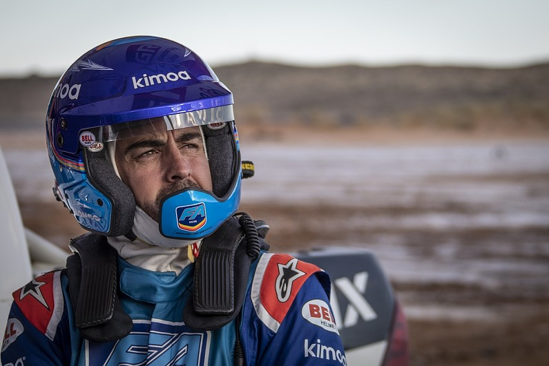 "Fernando Alonso finds dunes ""shocking"" as Dakar tests commence"