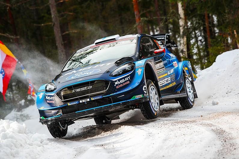 WRC Rally Sweden  Suninen leads Tanak d0ed70e604f