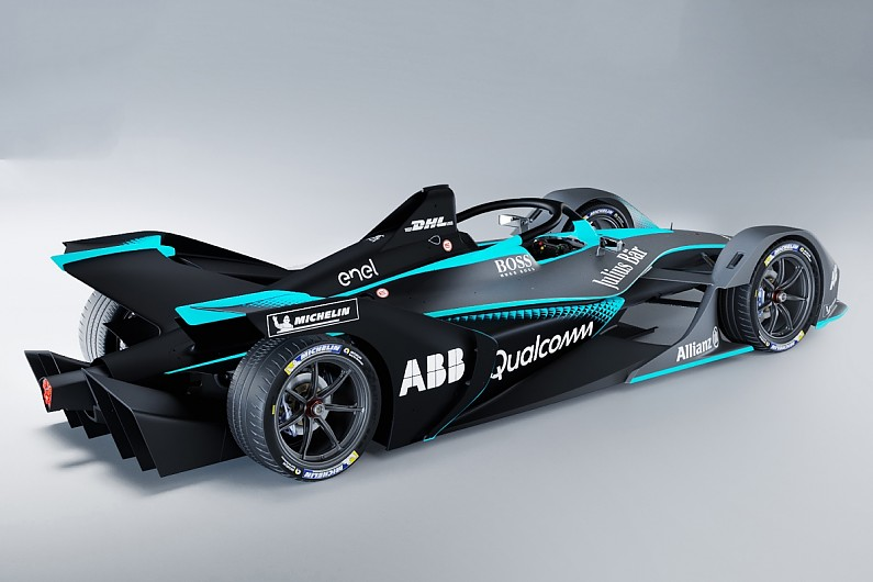 New Formula E Car Capable Of More Than Km H Champion Di Grassi Formula E Autosport