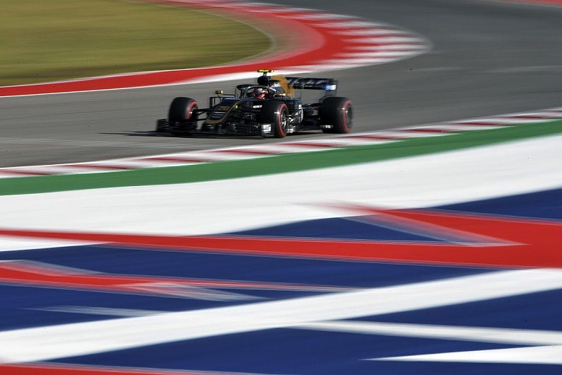 Haas Formula 1 team removes new front wing after Austin practice
