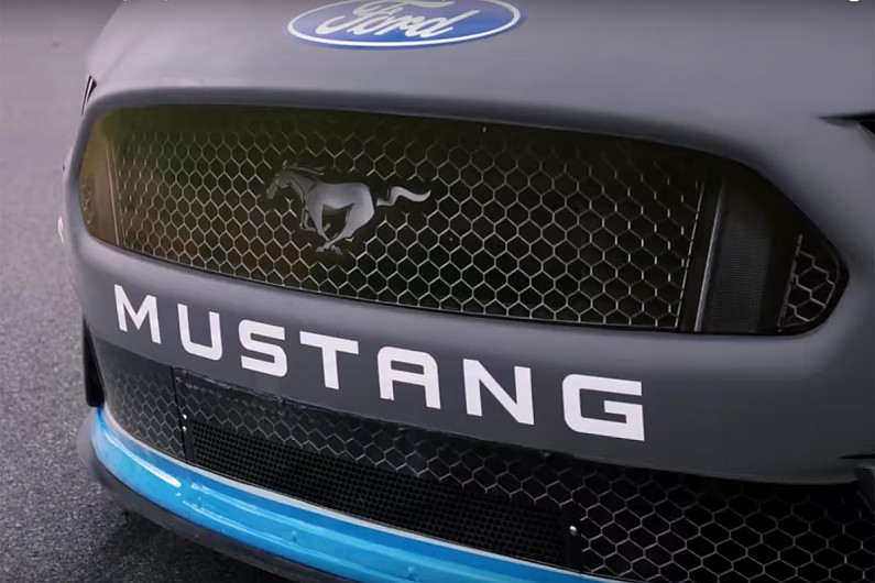 Nascar Cup Champion Logano Gives New  Ford Mustang First Outing Nascar Autosport
