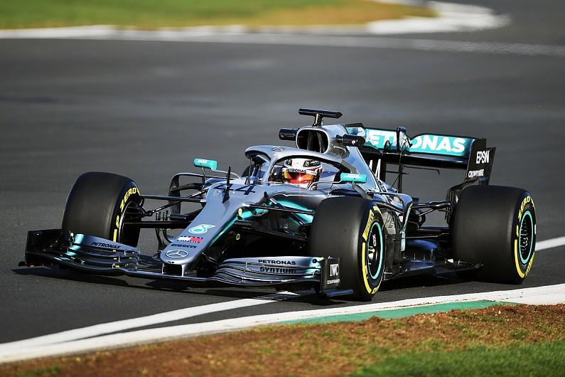 15df291643b Mercedes 2019 F1 car launch among Lewis Hamilton s best first days - F1 -  Autosport