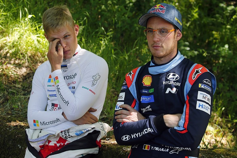 Tanak plays down rivalry with new WRC team-mate Neuville at Hyundai