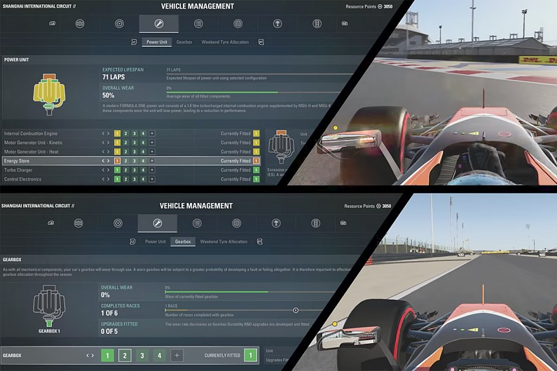 Codemasters reveals details of F1 2017 game's new career