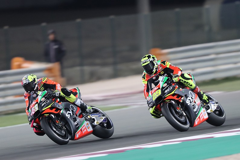 "Iannone's Misano visit ""good news for Aprilia"" – Espargaro - Motor Informed"