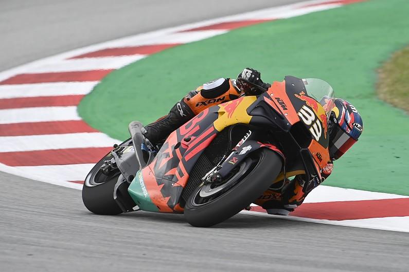 "Binder: Gripless end to MotoGP's Catalan GP ""like riding in the rain"" - Motor Informed"