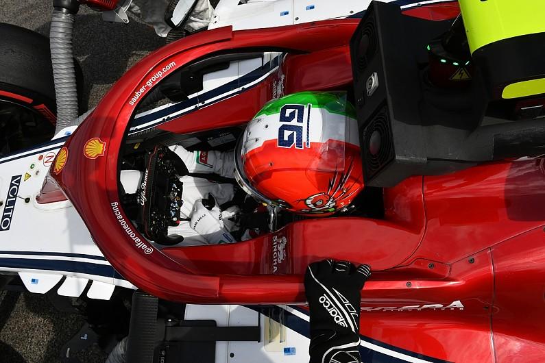 Ferrari backs Giovinazzi as Hulkenberg is linked with Alfa Romeo