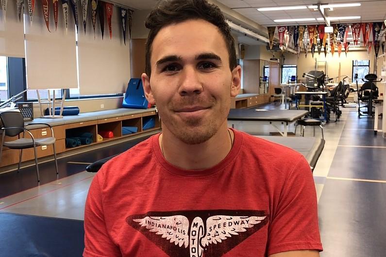 Injured IndyCar driver Robert Wickens sends video to Autosport Awards
